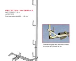 PROTECTION UNIVERSELLE AVEC POTEAU
