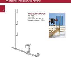 PROTECTION PIGNON avec poteau (Réf : 003672)